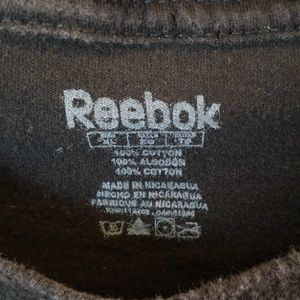 Reebok Shirts - New Orleans Saints Black Tshirt Sz XL